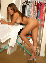 Miss Luana in the Closet
