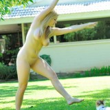 Danielle Ftv Plays Naked In The Park