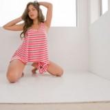 Seductive Busty Vixen Nina James Flashing Her Big Tits And Sexy Shaved Pussy