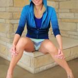 Lacey Brooks - Blue Tank