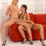 Lesbians Eve Angel & Mandy Dee