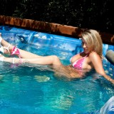 Nikki Wears Her Heels In The Hot Tub, Even When Shes Naked