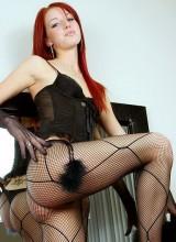 Playful Alice - Hot Black Fish Nets