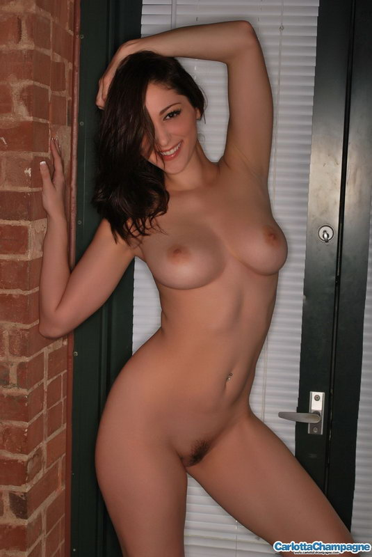 Carlotta Champagne - In Doorway