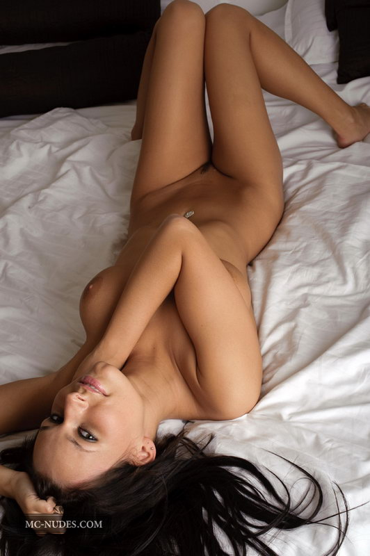 Gorgeous Carie Is Having Fun On Her Bed, Spreading Legs Touching Her Breasts And Teasing You To The Max