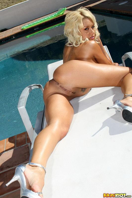 Briana Blair Succulent Butt Scrunch Bottom Bikini