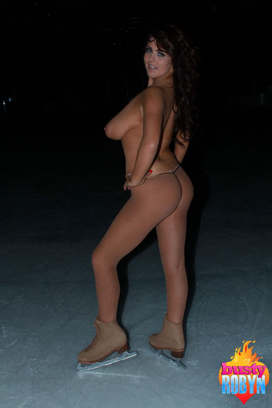 Robyn Alexandra Gets Naked On The Ice