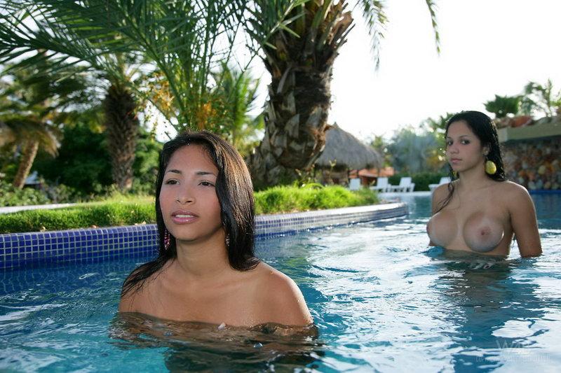 Ruth Medina & Zaza @ Watch4beauty - Water Party
