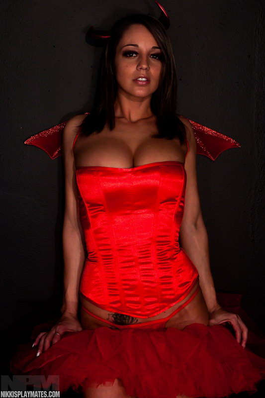 Nikkis A Sexy Devil For Halloween