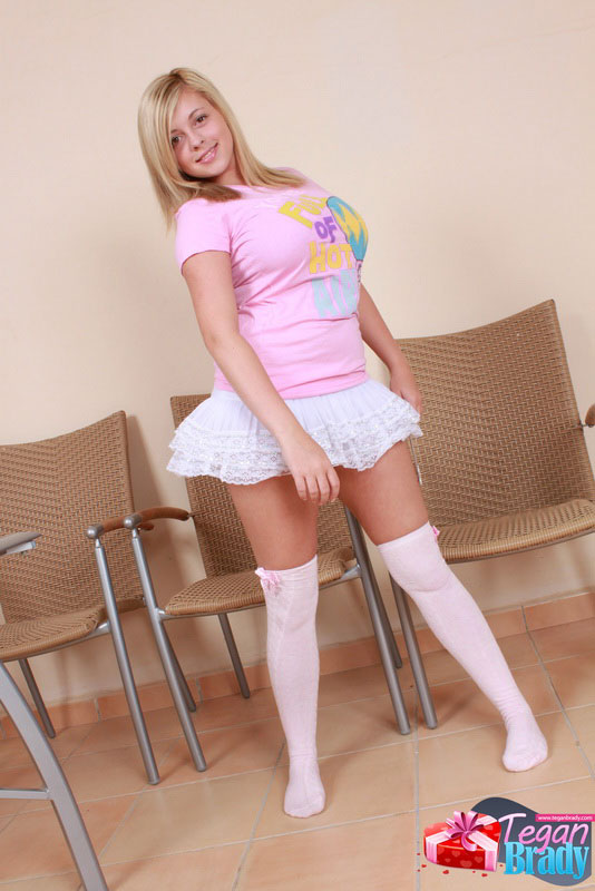 Busty Teen Tegan Brady Plays Dress Up As A Princess Fairy With Seethrough Panties