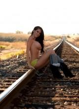 Talia Shepard - Train Tracks 11