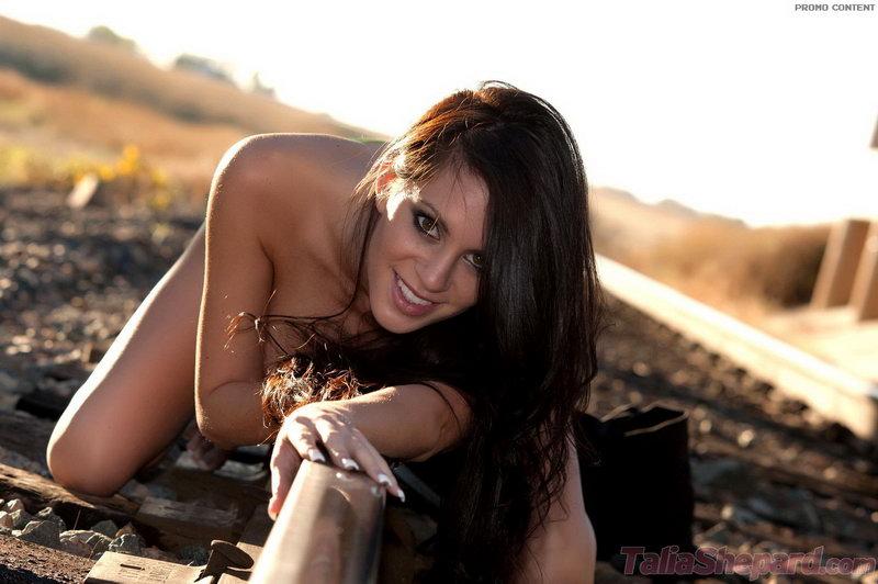 Talia Shepard - Train Tracks