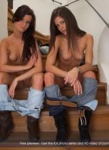 Little Caprice & Megan 15