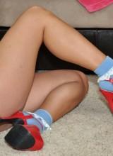 Phil-Flash: Emily - Hot Socks n Platforms