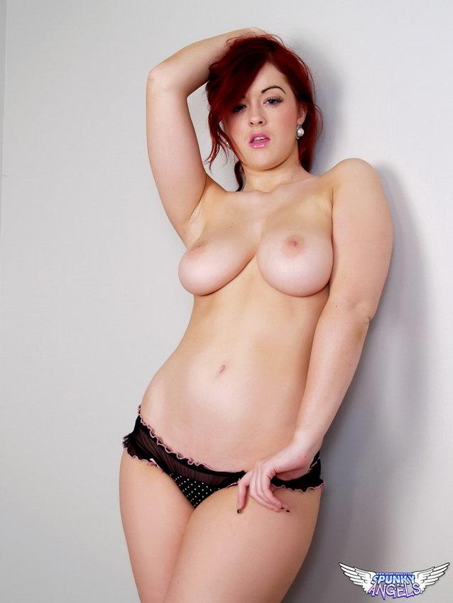 Spunkyangels: Busty British Teen Jaye Rose Shows Off Her Huge Juicy Tits