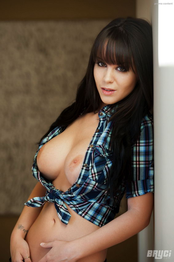Bryci Is The Hottest Country Girl In Plaid