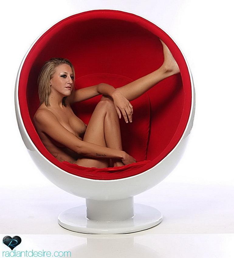 Radiant Desire: Cebra - Ball Chair