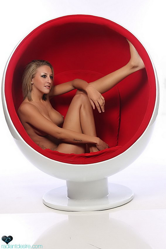 Radiant Desire: Cebra - Ball Chair