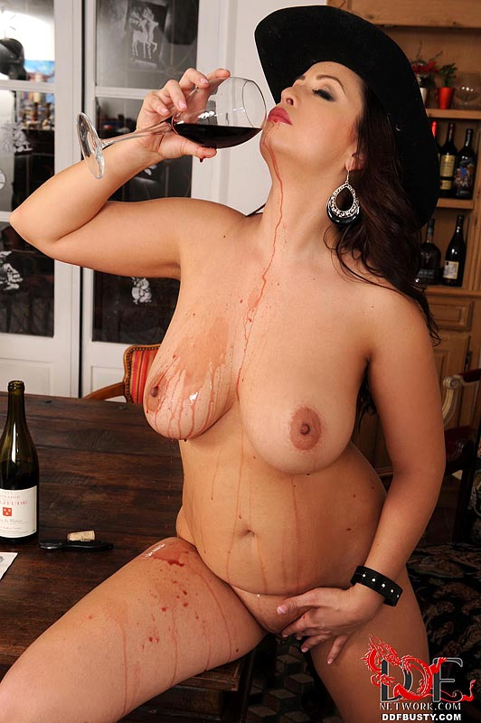 Ddf Busty: Sirale - Big Tits And Wine Bottles!