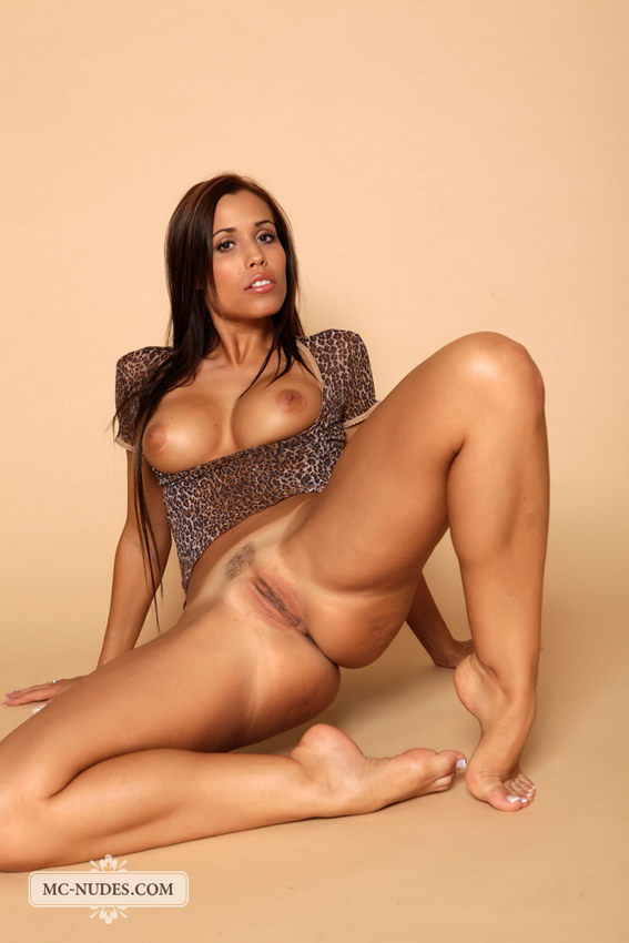 Mc-nudes: Satin - Leopard