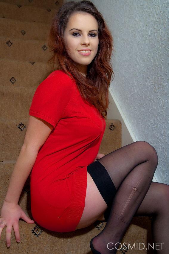 Cosmid: Jocelyn - Big Boobs & Black Stockings