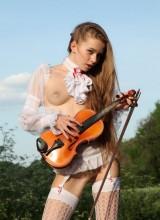 Met-Art: Milena D. - Sexy Violinist