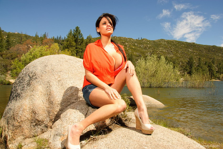 Wendy Fiore - Lake Rocks