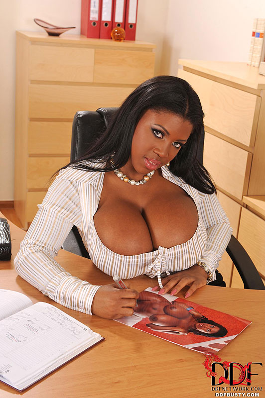 Ddf Busty: Maserati - Office Lady With The Coconuts
