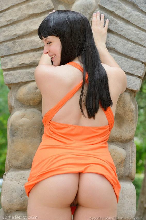Danielle Ftv Licks Her Big Nipples