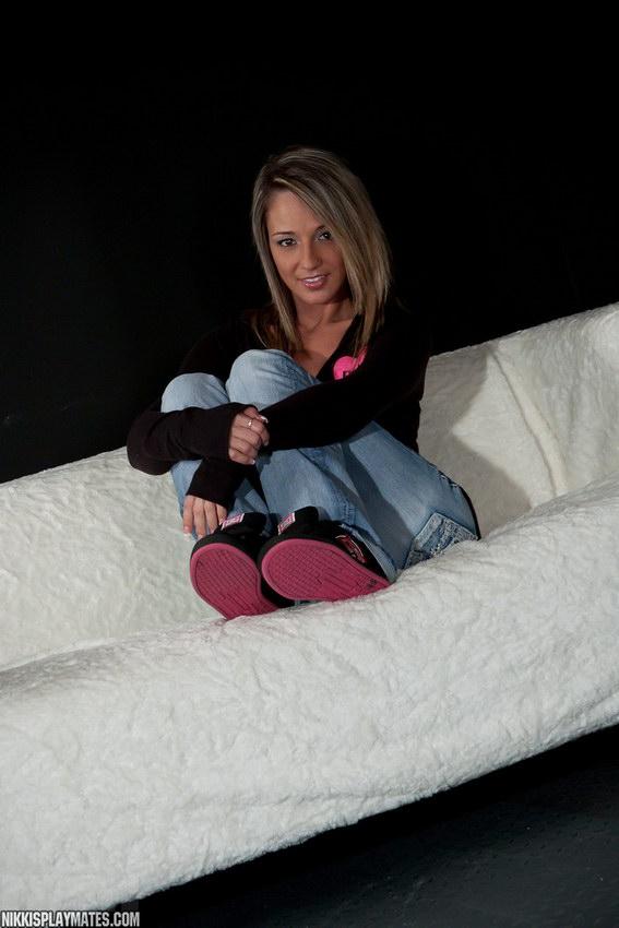 Nikki Sims In Pink