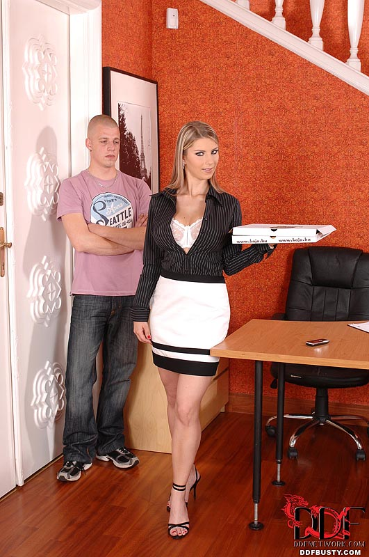 Ddf Busty: Katarina Takes Cock In Office