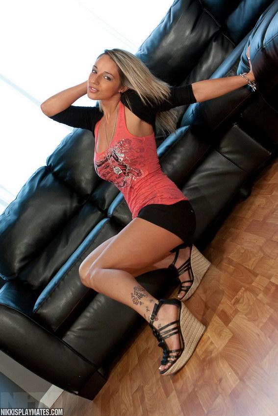 Nikki Sims - Black Shorts