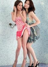 Lila & Minerva 1