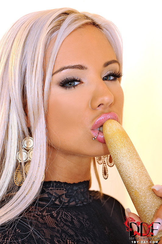 1by-day: Ashley Bulgari Makes Our Sperm Fly