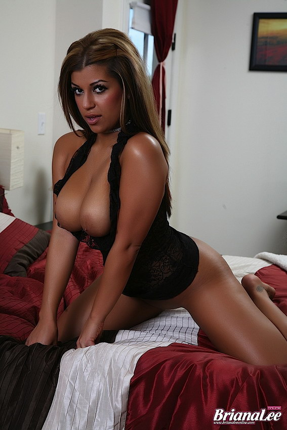 Briana Lee - On The Bed