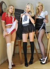 Kym, Lucy-Anne, Holly 7