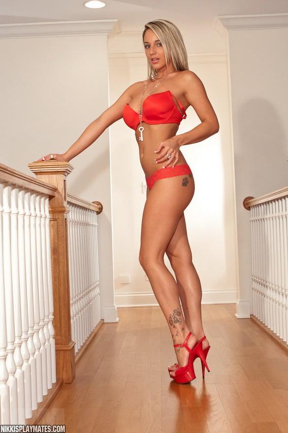 Nikki Sims - Red Dress
