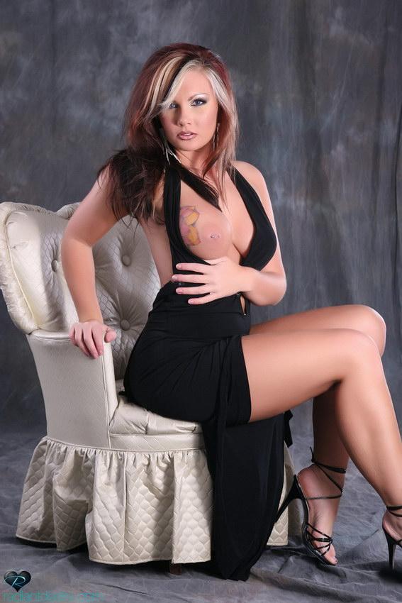 Radiant Desire: Leah - Black Dress