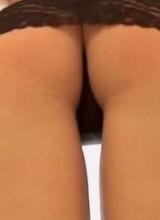 Sarah Vickers hot stocking tease