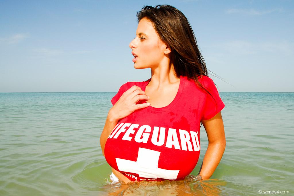 Wendy Fiore - Lifeguard @ Bonita