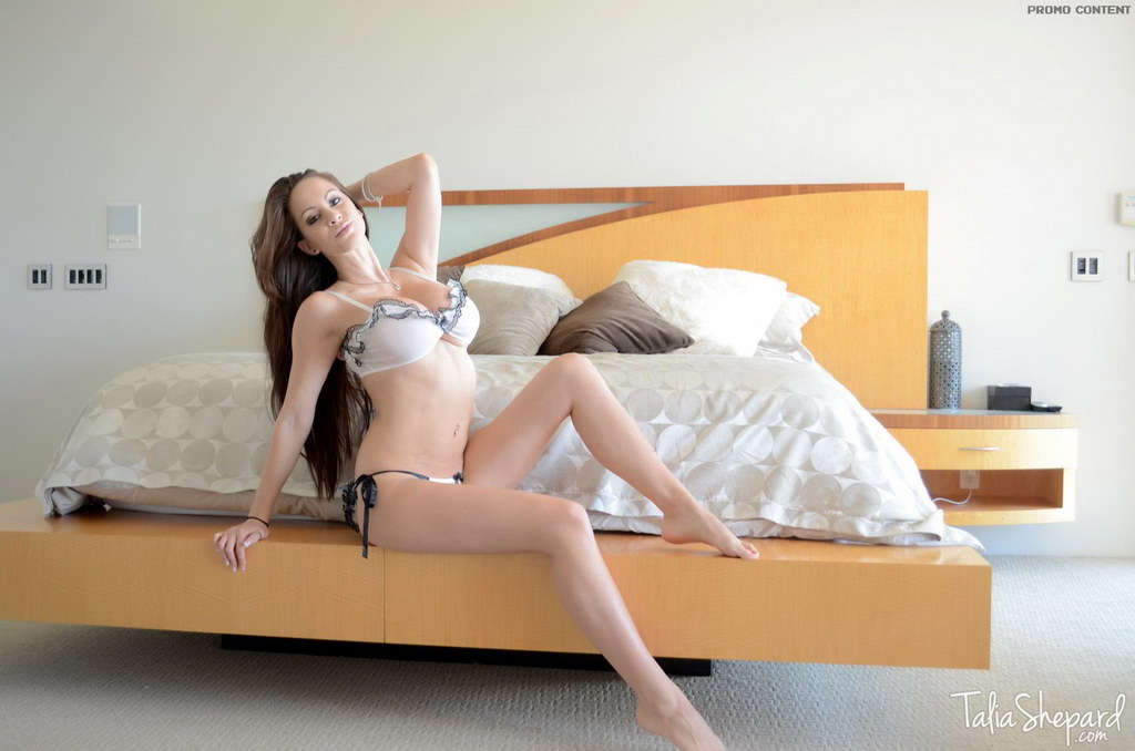 Talia Shepard - Ruffle Lingerie