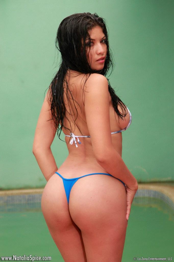 Natalia Spice Strips Off Her Itty Bitty Bikini To Reveal That Incredible Body She Has