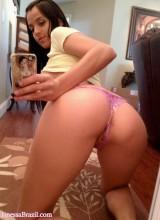 Janessa Brazil - Hot Booty Mirror