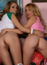Allyssa Hall fun with Lexi Belle