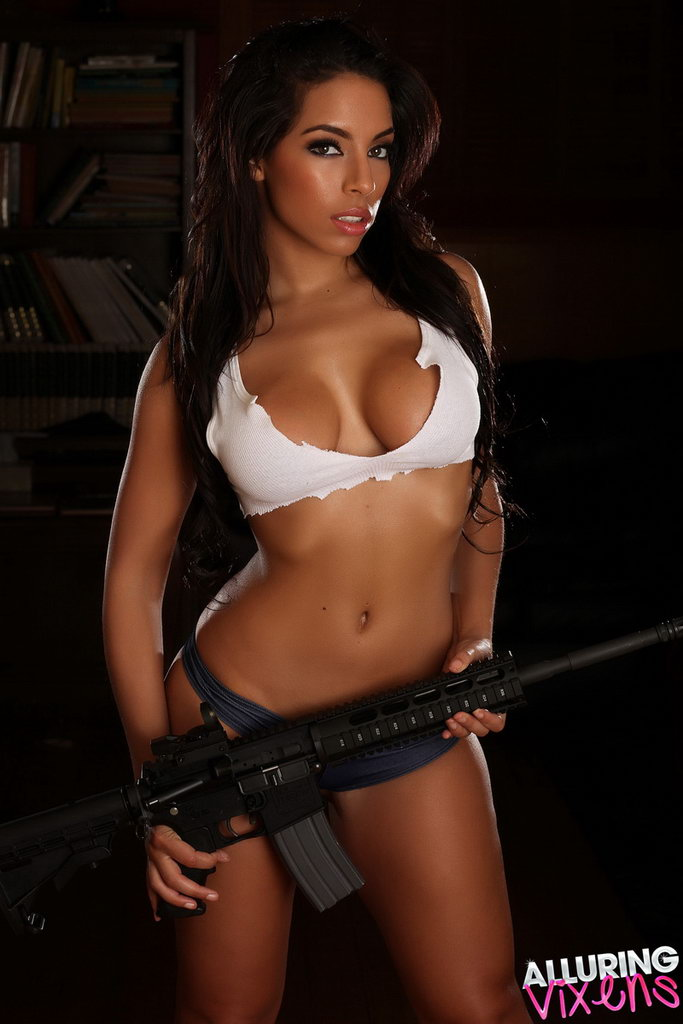 Alluring Vixens: Charm - Big Guns
