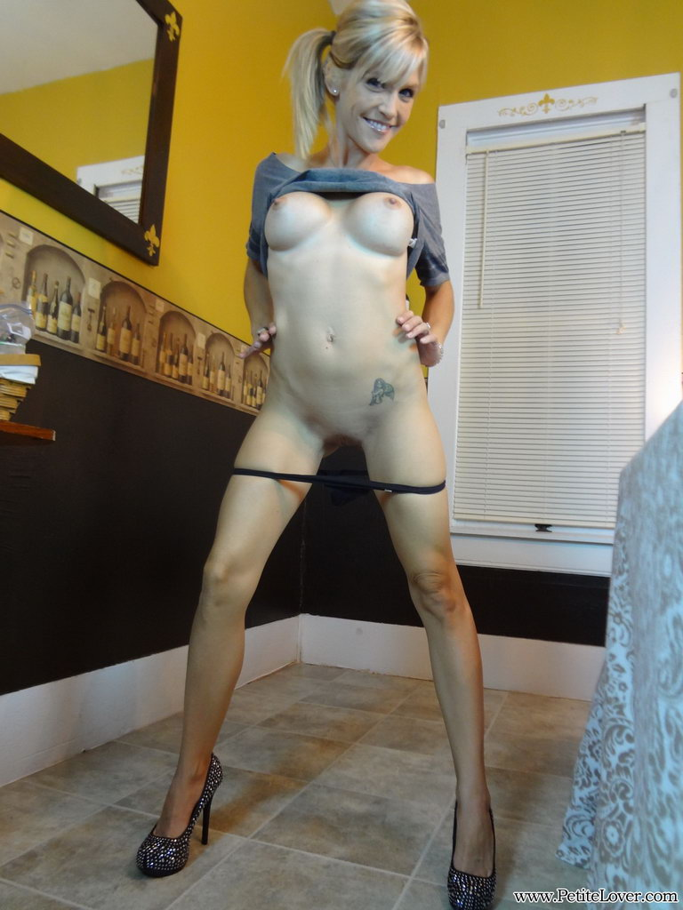 Petite Lover: Jolene Shows Off Her Petite Body For The Camera