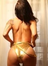 Lee Von Lux Gold Swimsuit