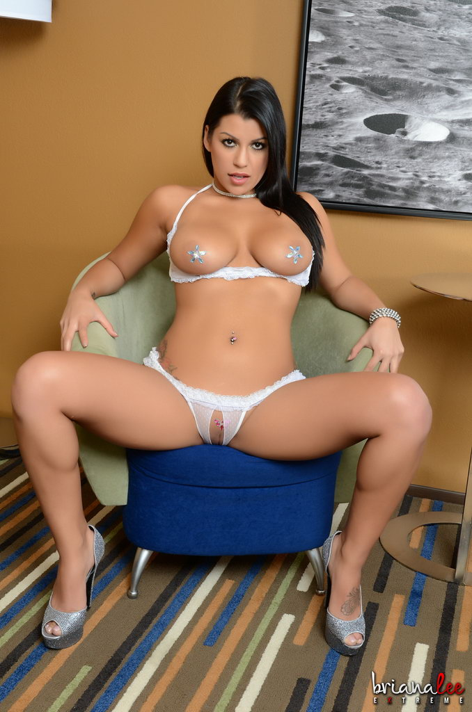 Briana Lee Extreme - Crotchless Panties