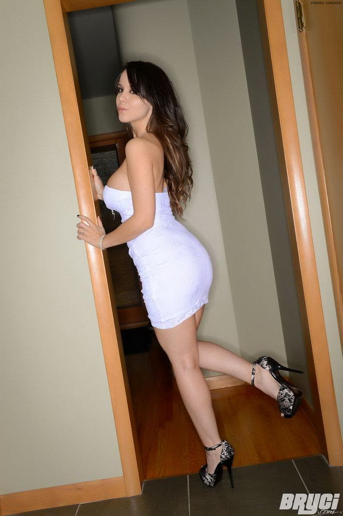 Bryci - White Lace Dress