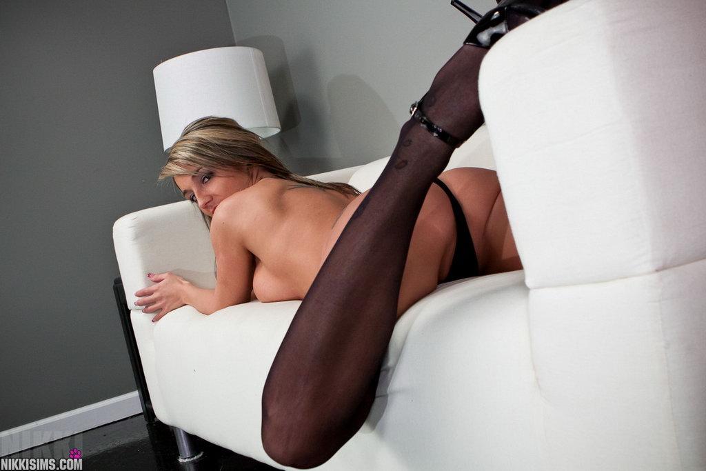 Nikki Sims - Black Sheer